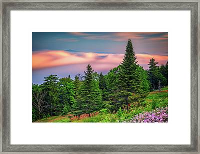 Framed Print featuring the photograph Height Of Land by Rick Berk