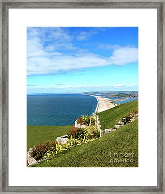 Heights Of Fortune Framed Print by Baggieoldboy