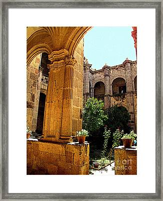 Heights Of Glory Framed Print