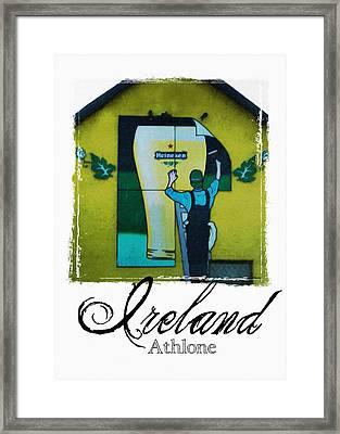 Heineken Athlone Ireland Framed Print