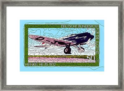 Heinkel He70 Framed Print