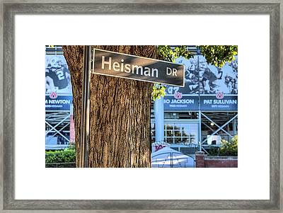 Heisman Drive Framed Print by JC Findley