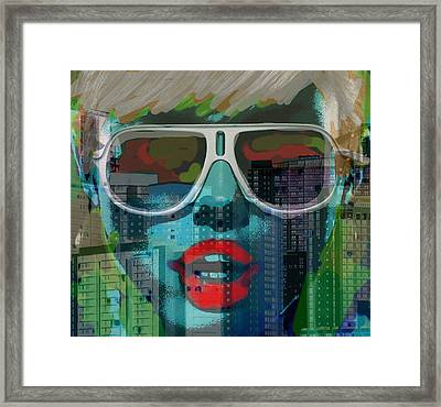 Hot In The City  Framed Print by Paul Sutcliffe