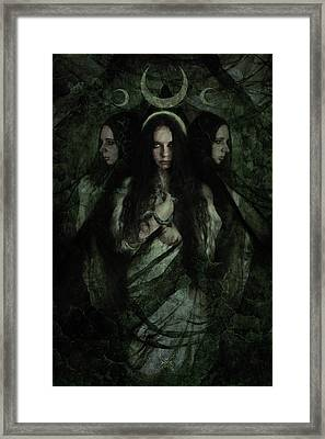 Hekate Framed Print by Cambion Art