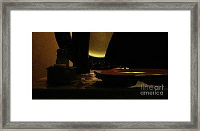 Framed Print featuring the photograph Held In Quiet Reserve by Linda Shafer
