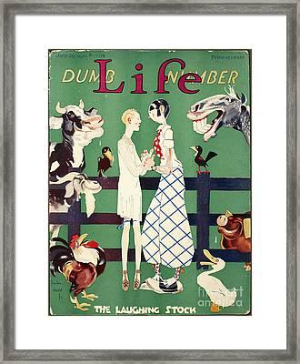 Held: Magazine Cover, 1926 Framed Print by Granger