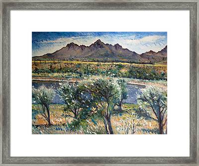 Helderberg Clearmountain Cape Town South Africa Framed Print