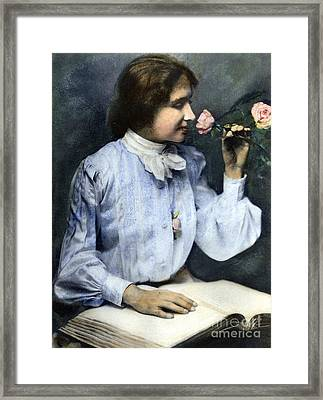 Helen Adams Keller Framed Print by Granger