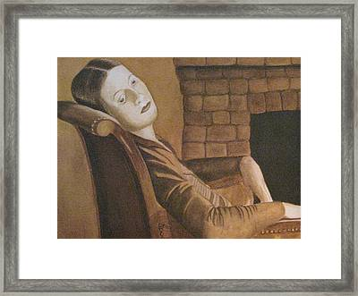 Helen Framed Print by Barbara Pascal