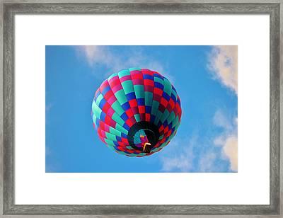 Helen Hot Air Balloon Framed Print