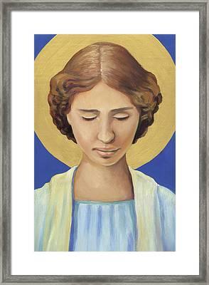 Helen Keller Framed Print