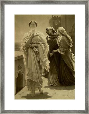Helen Of Troy Framed Print by Frederic Leighton