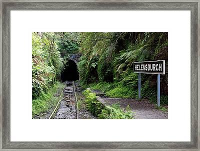 Helensburgh Old Station Framed Print
