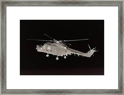 Helicopter Framed Print by James Hill