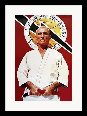 Mixed Martial Art Framed Prints