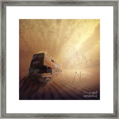 Helios Decending Framed Print by Svetlana Sewell