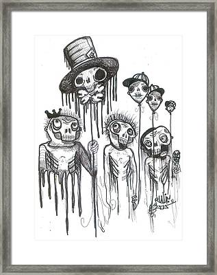 Helium Hats Framed Print by Robert Wolverton Jr