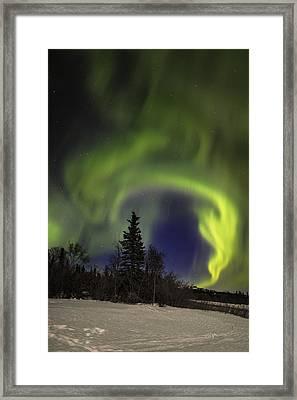 Helix Framed Print by Ed Boudreau
