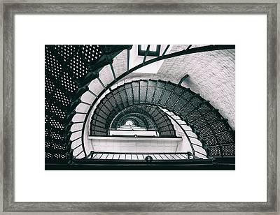 Helix Eye Framed Print by Iryna Goodall
