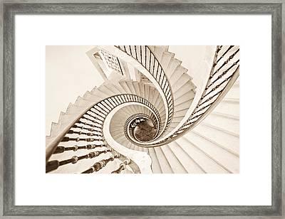 Helix Vertigo Framed Print