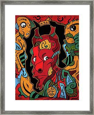 Hell Framed Print