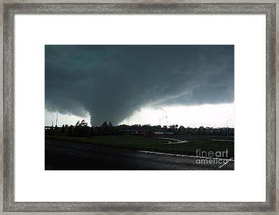 Hell Unleashed Framed Print by Rick Lipscomb