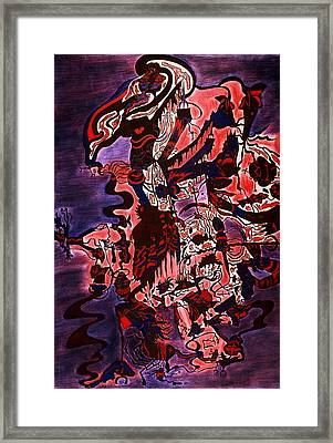 Hell Framed Print by William Watson