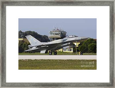 Hellenic Air Force F-16d Block 52 Framed Print