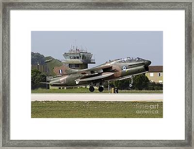 Hellenic Air Force Ta-7c Corsair Taking Framed Print