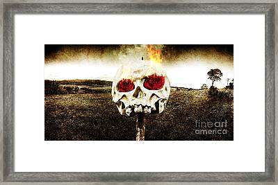 Hellfire Of Love Framed Print by Jorgo Photography - Wall Art Gallery