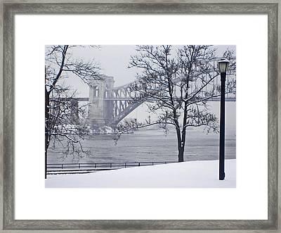 Hellgate 2 Framed Print by Bernadette Claffey
