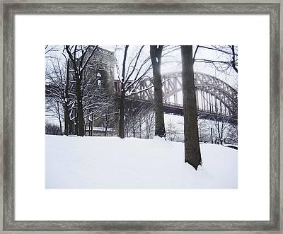 Hellgate 5 Framed Print by Bernadette Claffey