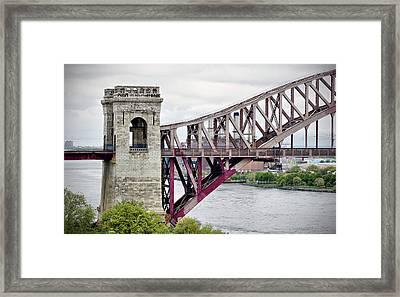 Hellgate In Grey Framed Print