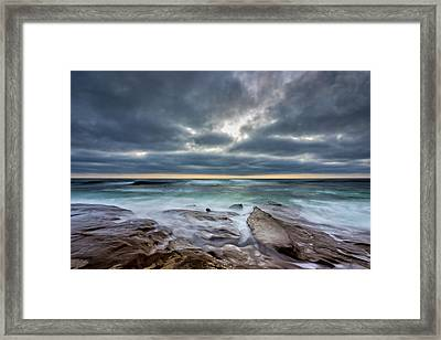 Hellishly Heavenly Framed Print by Peter Tellone
