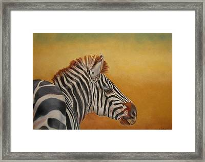 Hello Africa Framed Print by Ceci Watson