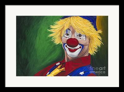Klown Framed Prints
