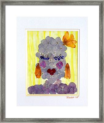 Hello Darling Framed Print by Lisabeth Billingsley