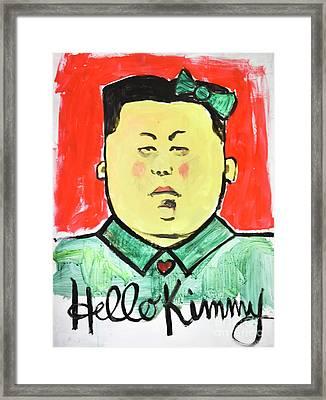 Hello Kimmy Framed Print by Jan Little