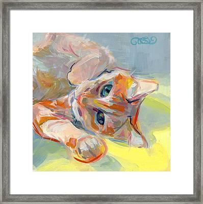 Hello Kitty Framed Print by Kimberly Santini