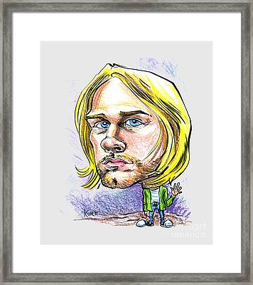 Hello Kurt Framed Print