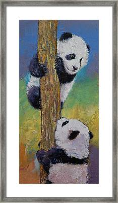 Hello Framed Print by Michael Creese