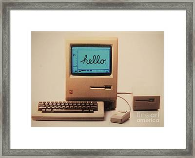 Hello Remember Me Framed Print