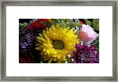Hello Sunshine Framed Print by Becky Lupe