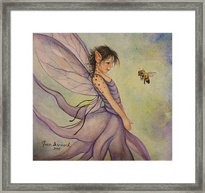 Hello There Framed Print by Joan Barnard