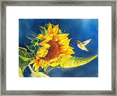 Hello There Framed Print by Patricia Pushaw