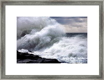 Hello Winslow Framed Print by Olivier Le Queinec