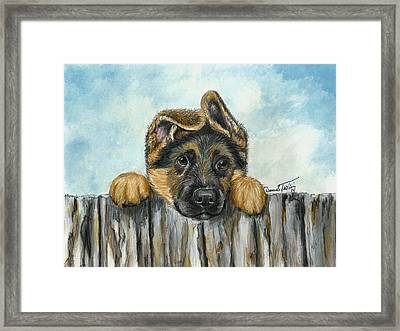 Hello You  Framed Print by Daniele Trottier