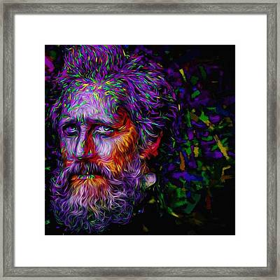 #hellonwheels #hellonwheelsamc #paint Framed Print by David Haskett