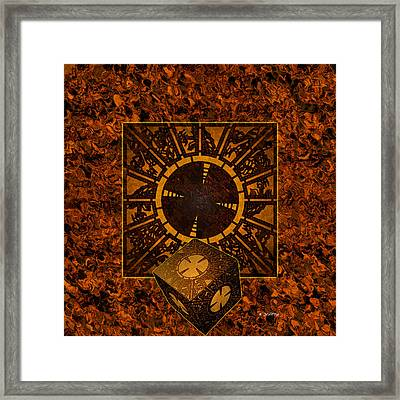 Hell's Box Framed Print by Brian Dearth