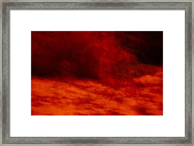 Hells Fire Framed Print by Christopher Rowlands